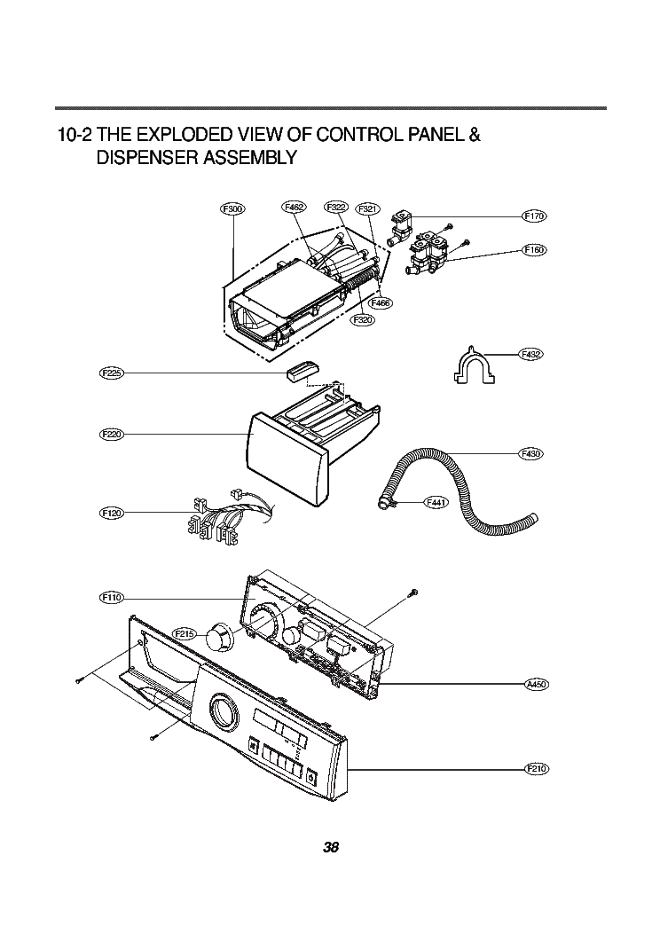 LG WD-1438RD EXPLODED VIEW Service Manual download