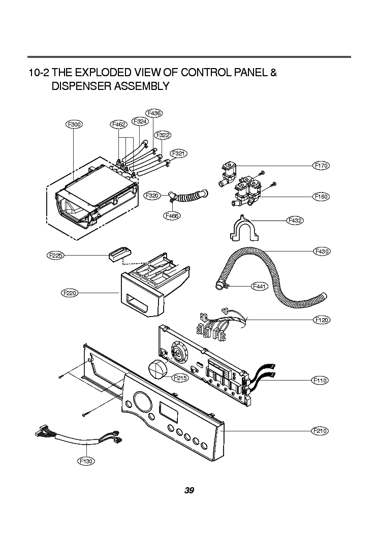 LG WD-1488RD EXPLODED VIEW Service Manual download