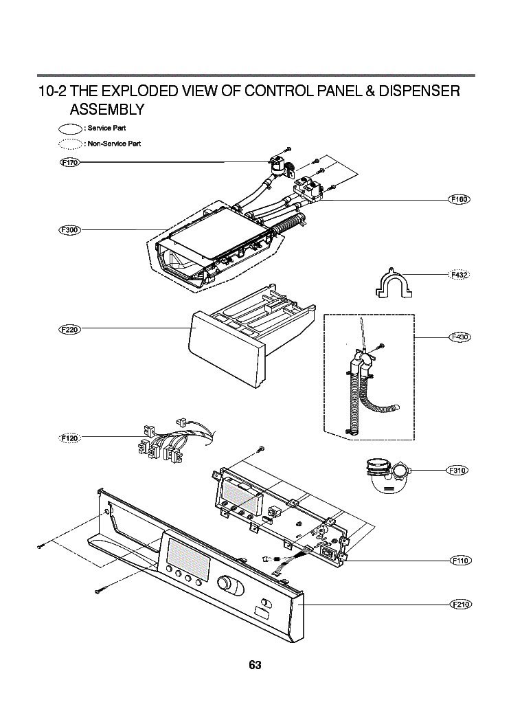 LG WD-1610FD EXPLODED PARTS Service Manual download