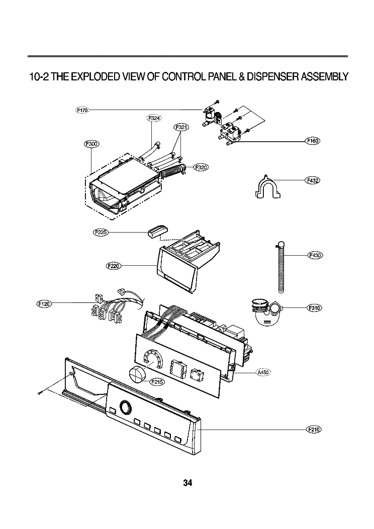 LG WD-8013F EXPLODED VIEW Service Manual download