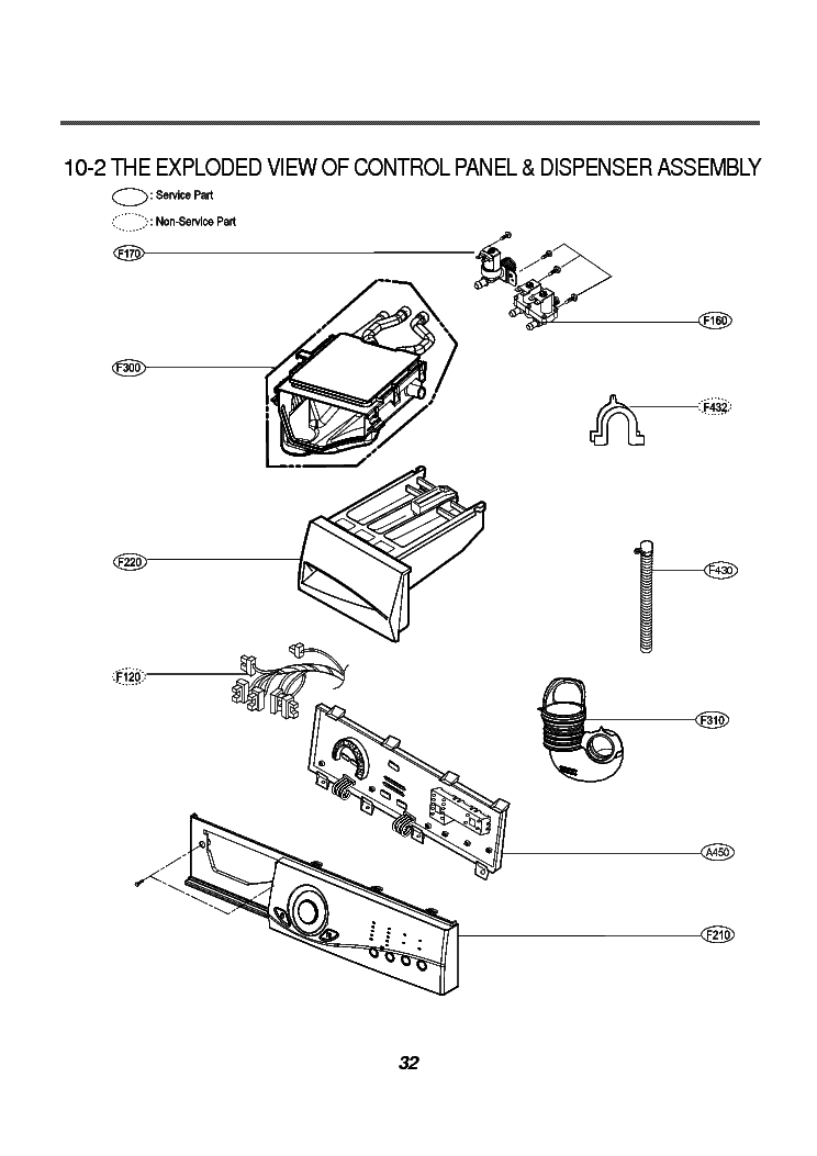 LG WD-8015C EXPLODED VIEW Service Manual download
