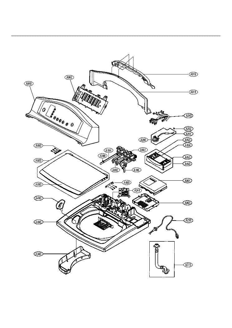 LG WT-R807 EXPLODED VIEW Service Manual download