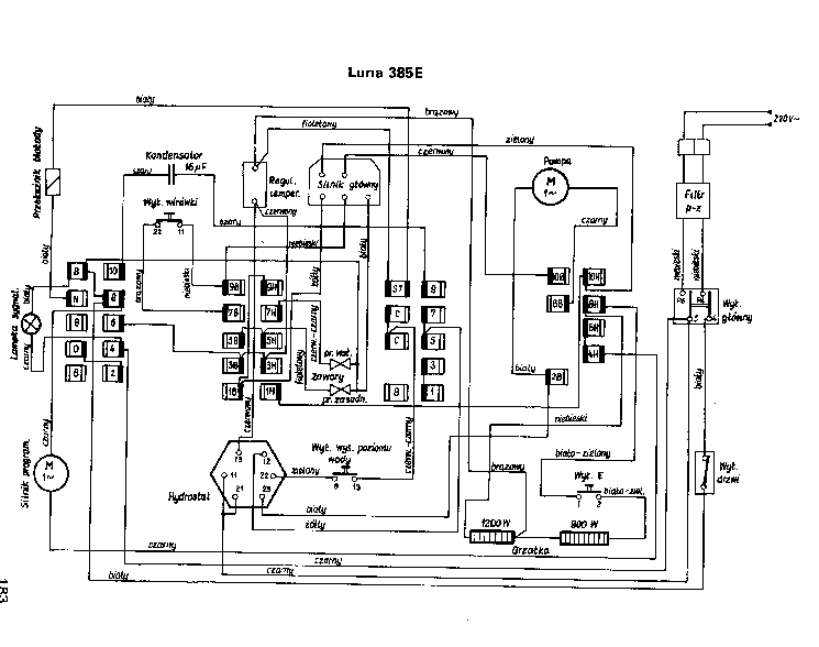 POLAR LUNA 385E SCH Service Manual download, schematics