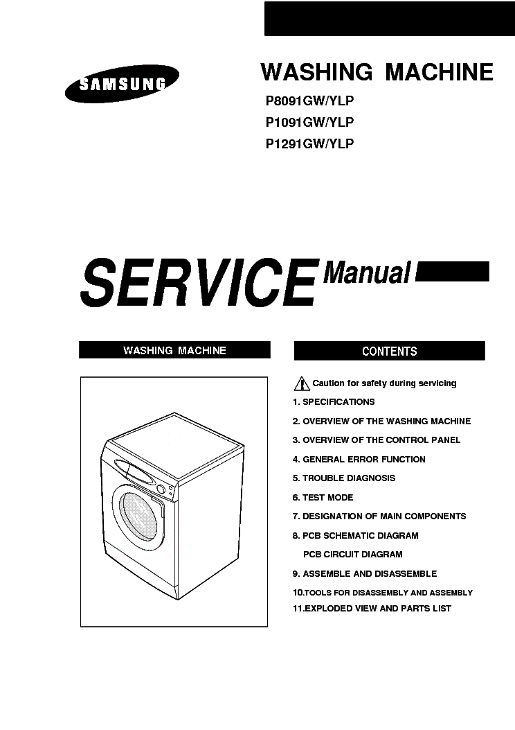 Washing Machine Diagram Pdf : 27 Wiring Diagram Images
