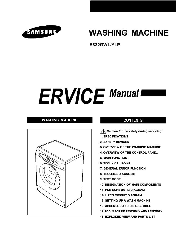 SAMSUNG CE2977NR Service Manual free download, schematics