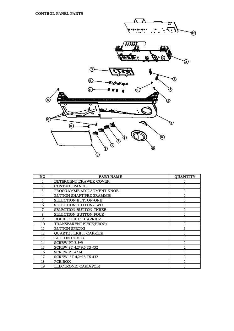 VESTEL ALVA B NA-127VB3 NA-147VB3 SM Service Manual free