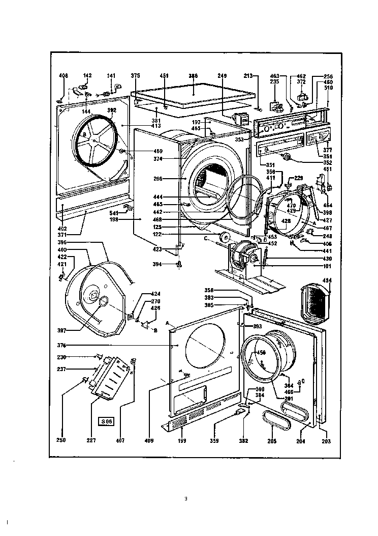 WHIRLPOOL AWM 245 Service Manual free download, schematics