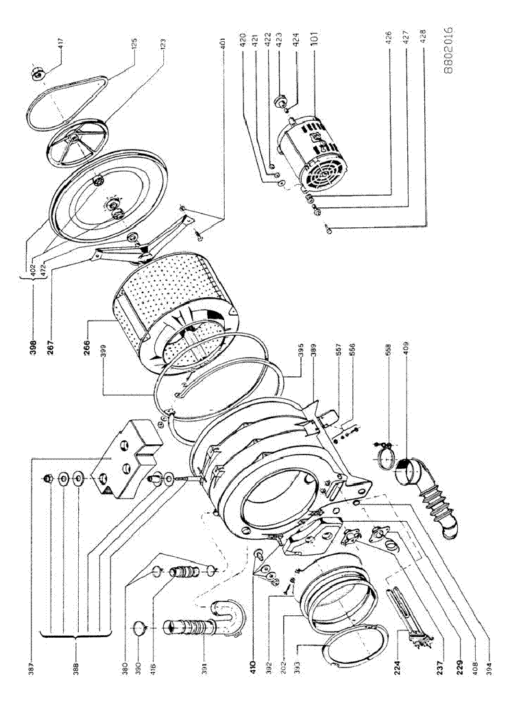 WHIRLPOOL IGNIS AWL364 Service Manual download, schematics