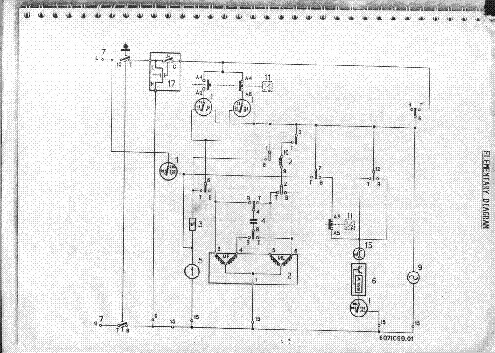 ZANUSSI-400 Service Manual download, schematics, eeprom