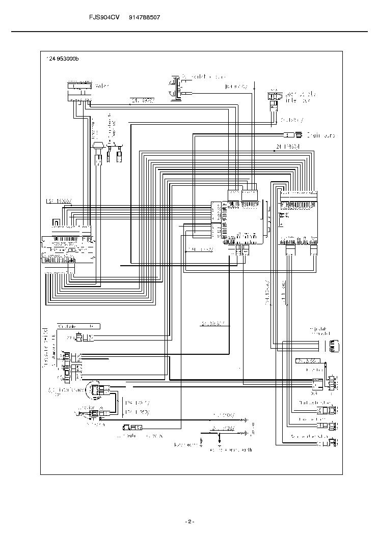 ZANUSSI FJS904 CV Service Manual download, schematics
