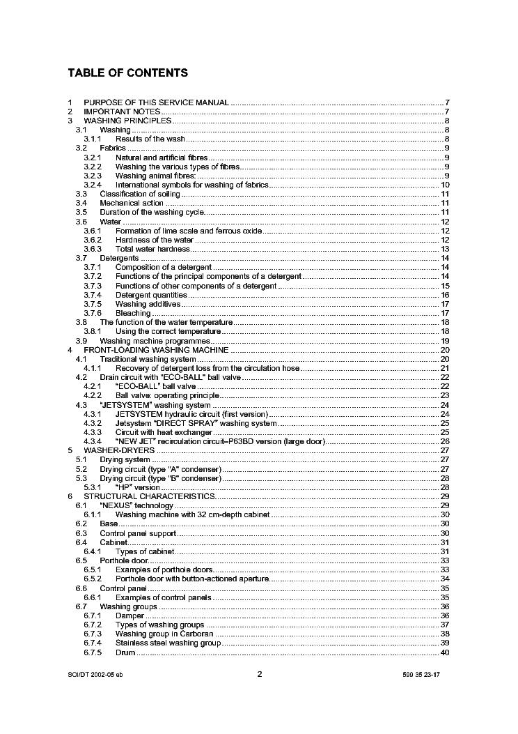 ZANUSSI FL822C SM Service Manual download, schematics