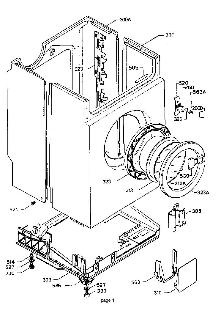 ZANUSSI WD1002 Service Manual download, schematics, eeprom