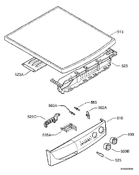 ZANUSSI ZWG3125 Service Manual download, schematics