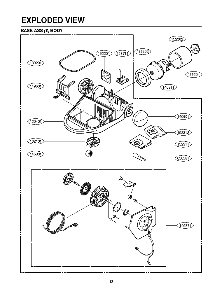 LG S2700 L-STY EXPLODED VIEW Service Manual download
