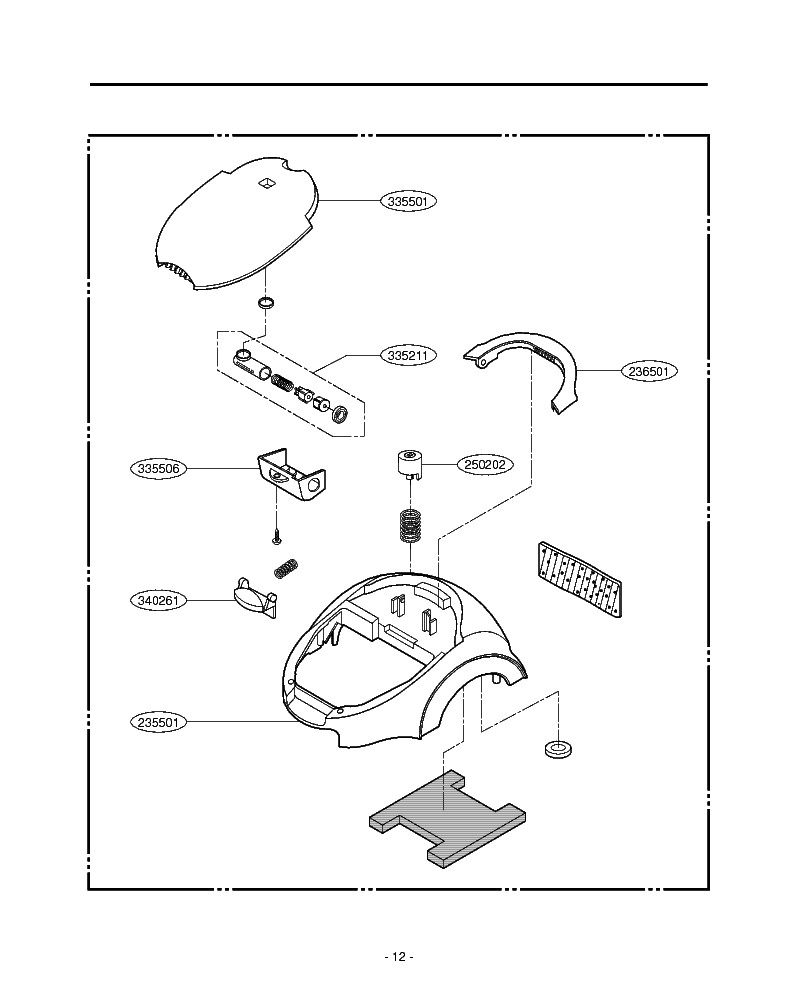 LG V-4200HTV EXPLODED VIEW Service Manual download