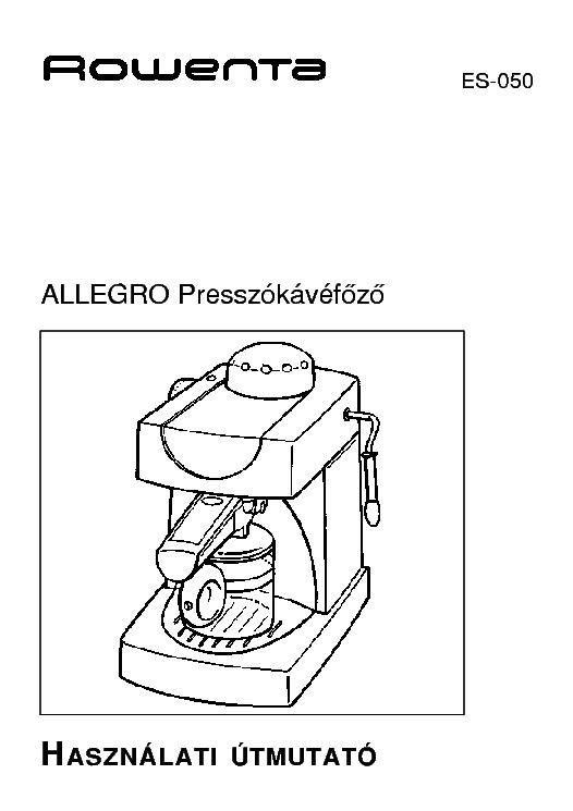 ROWENTA ES-050 USER HUN Service Manual free download