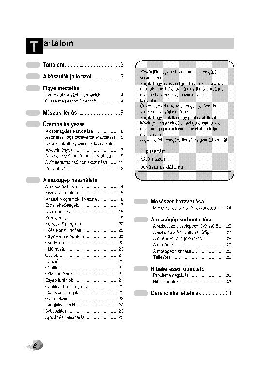 LG F1281TD F1281TD F1081TD USERMANUAL Service Manual