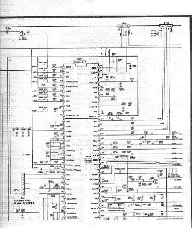 ADMIRAL TFK-2100A Service Manual download, schematics