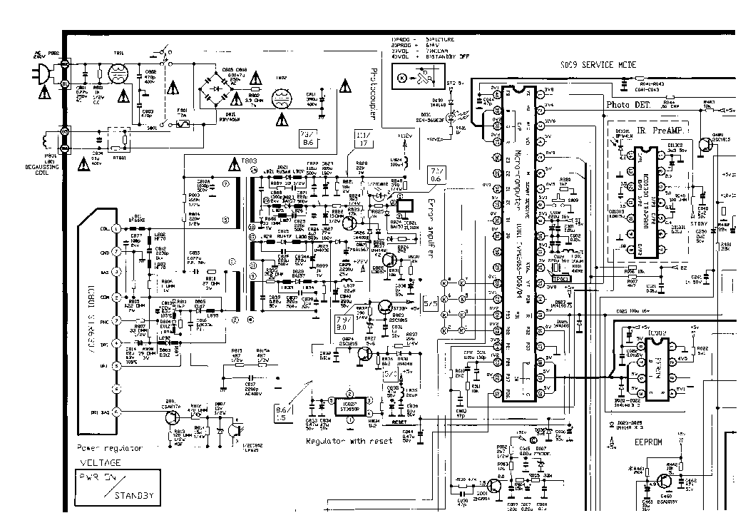 AIWA 1402 2002 2102 Service Manual download, schematics