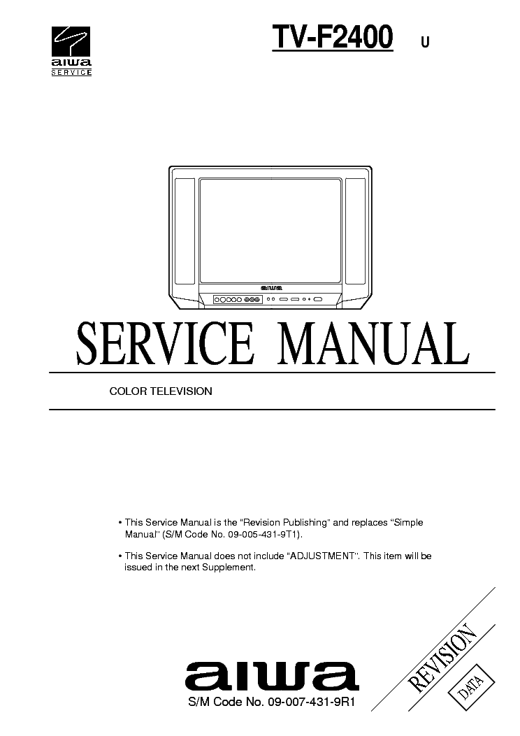 AIWA SE2130 SE1430 Service Manual download, schematics