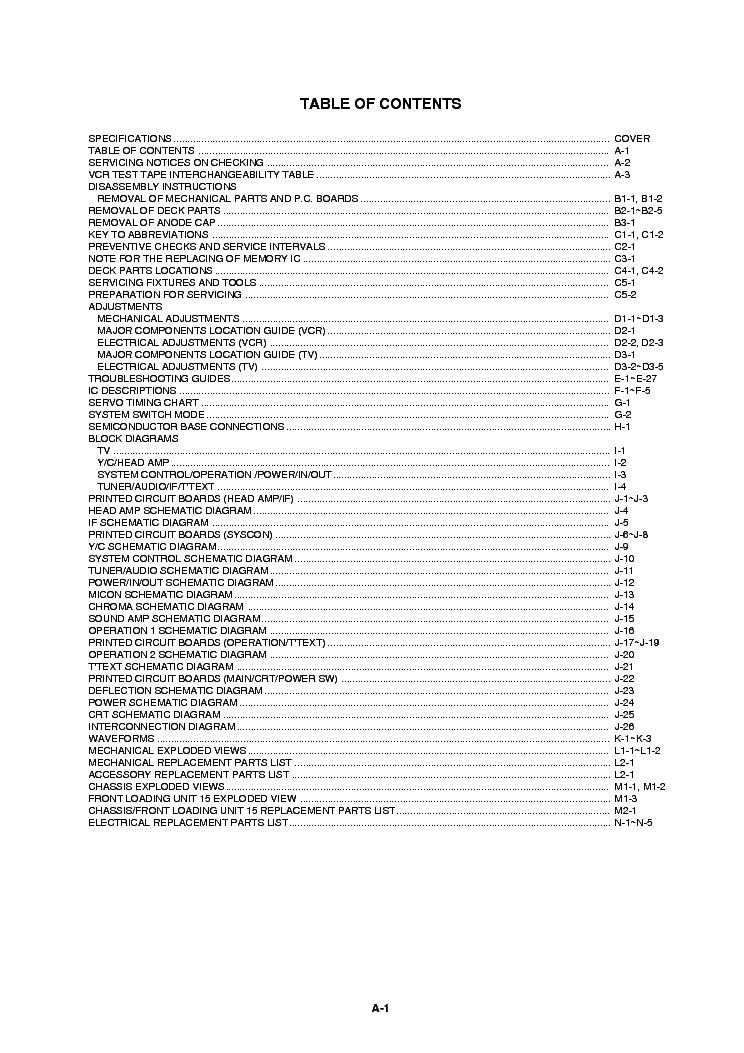 AIWA VX-T147K Service Manual download, schematics, eeprom