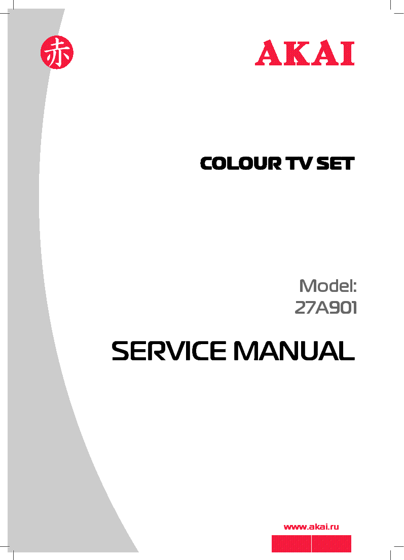 AKAI SCOTT LCT37SHA Service Manual download, schematics