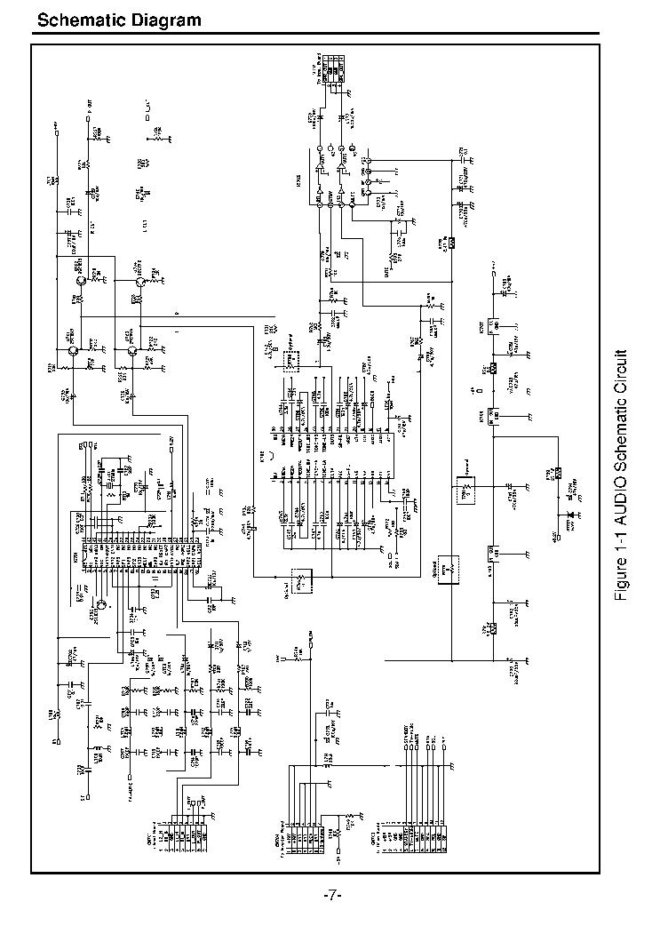 AKIRA 14THS3BN TDA9381 Service Manual download, schematics