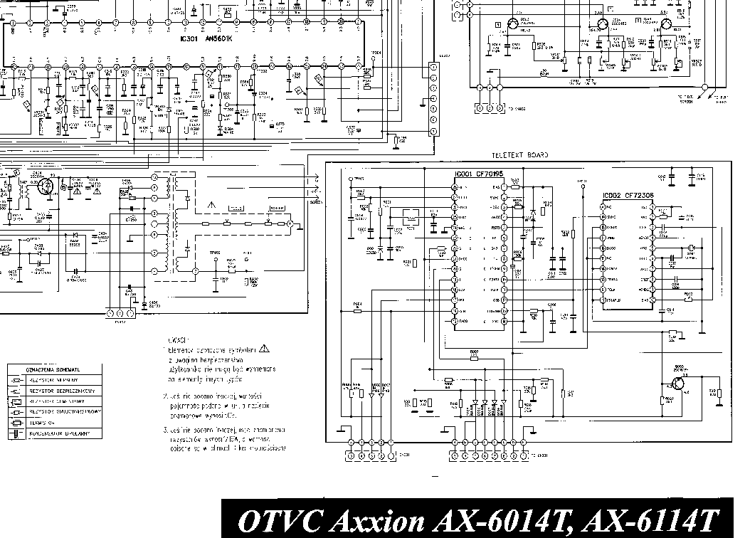 AXXION RC4021-RC4020 Service Manual download, schematics