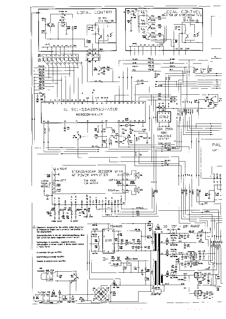 BEKO CHASSIS 10.3 Service Manual download, schematics