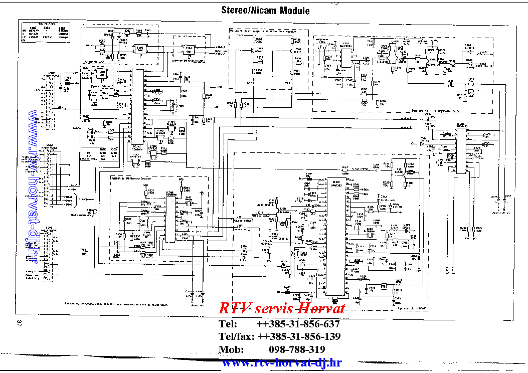 BEKO CHASSIS 11.1 Service Manual download, schematics