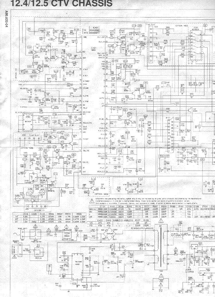 BEKO TV 125 Service Manual download, schematics, eeprom