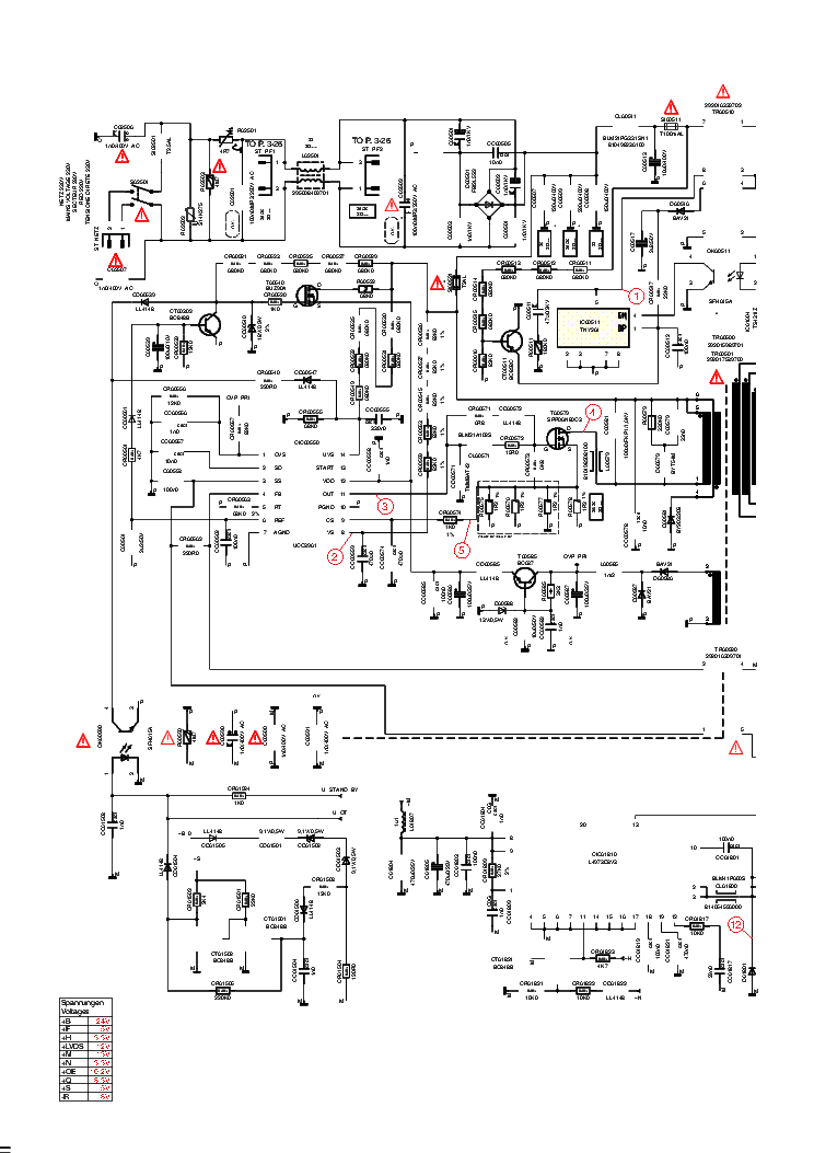 BEKO TEL-CHASSIS-12.7-CIRCUIT-DIAGRAM Service Manual free