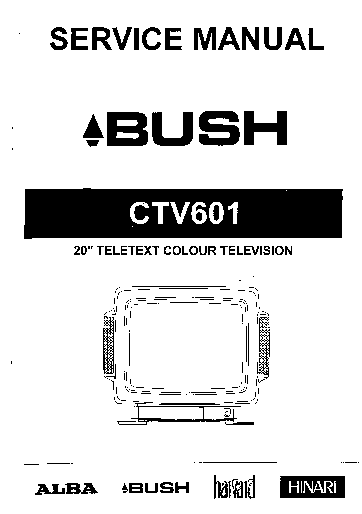 BUSH 2857NTX Service Manual free download, schematics