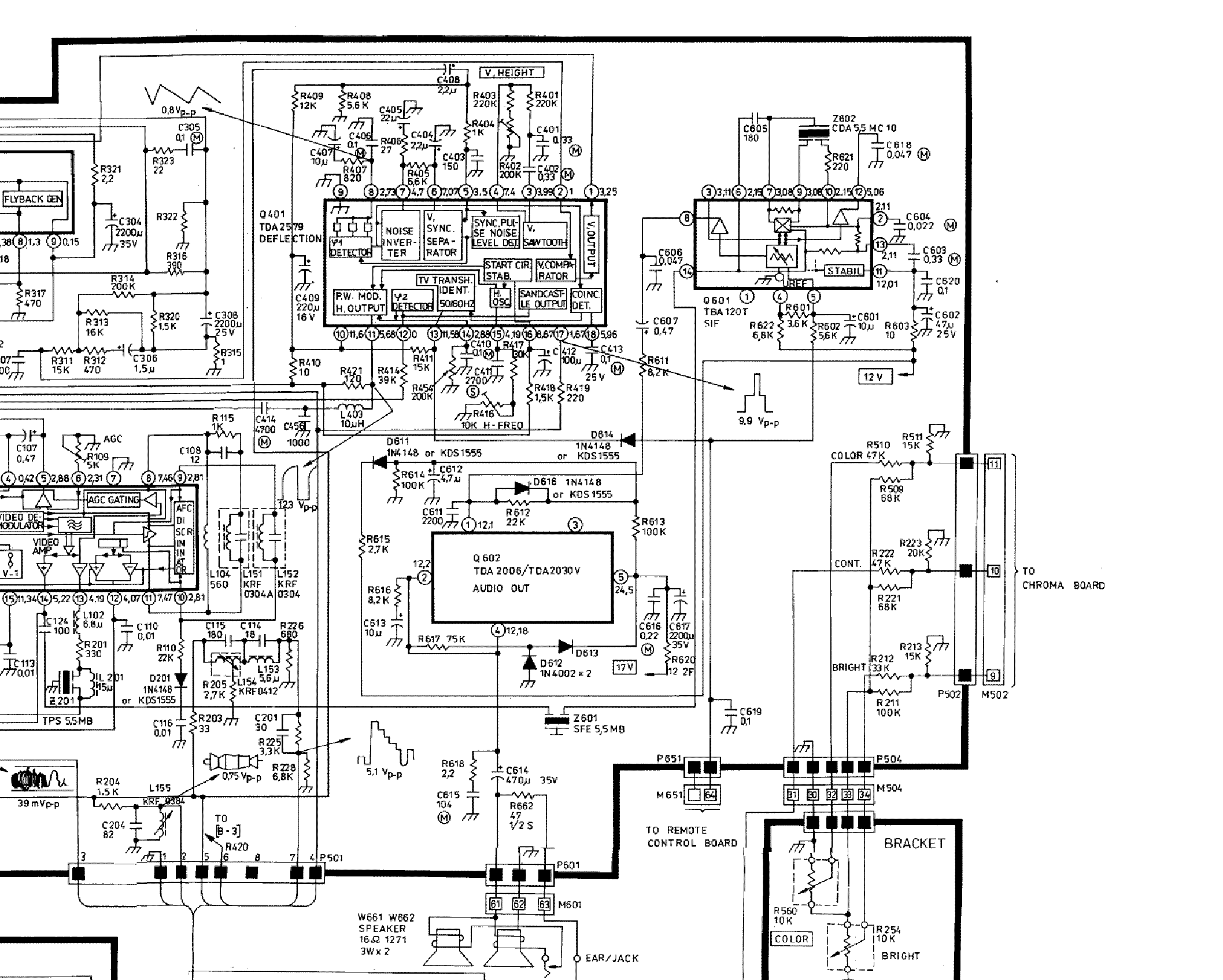 CLATRONIC-CTV-148-150 Service Manual download, schematics
