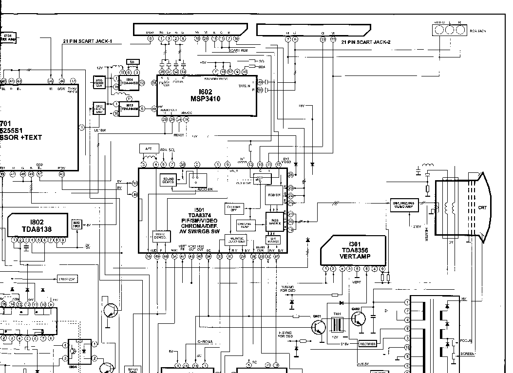DAEWOO CP-380 Service Manual download, schematics, eeprom
