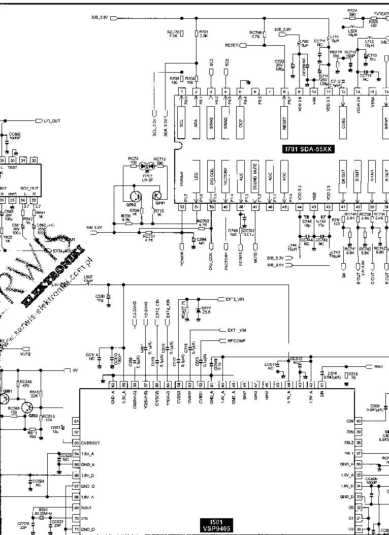 DAEWOO CP-850F SCH Service Manual download, schematics