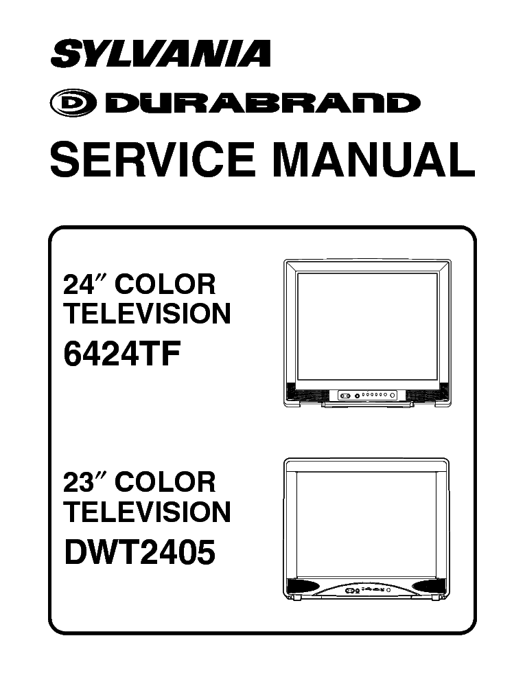 DURABRAND 6424TF DWT2405 Service Manual download