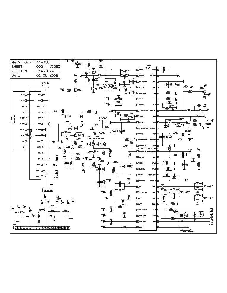 11AK30-A4 SCH Service Manual download, schematics, eeprom