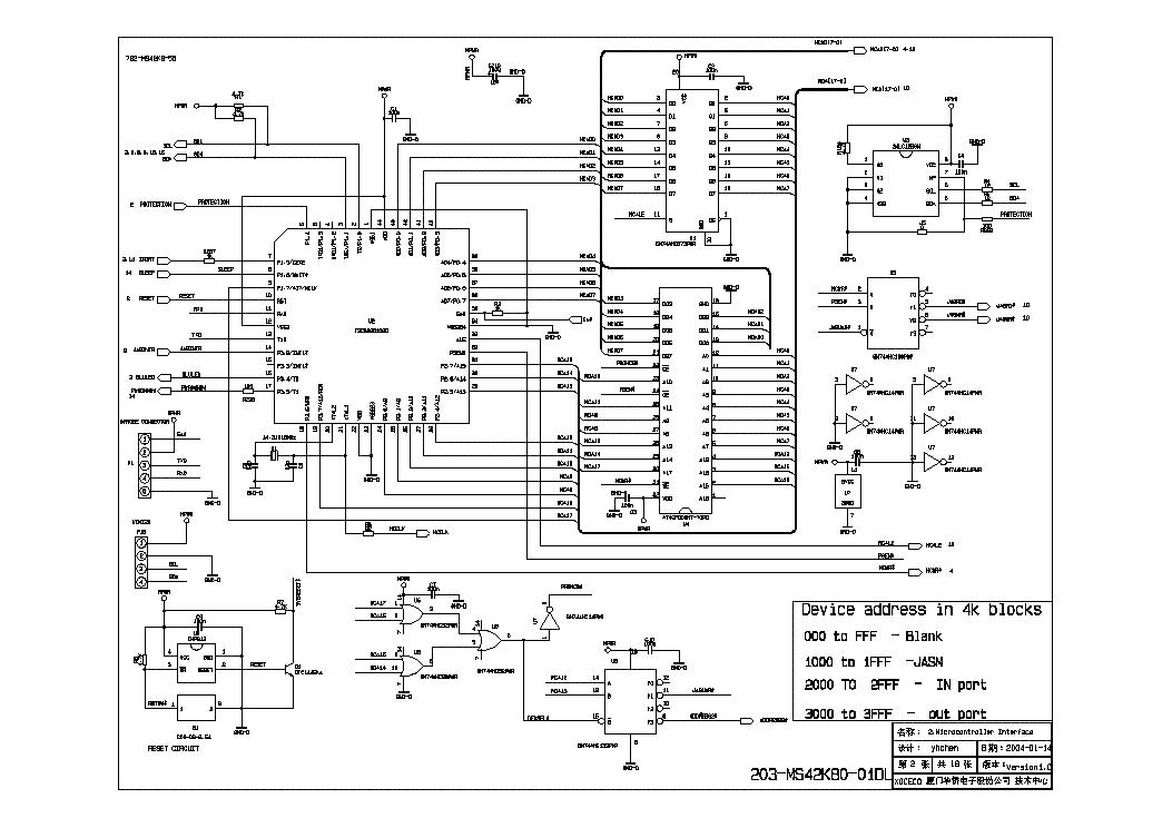 LEGEND LEP4238 SCH Service Manual download, schematics