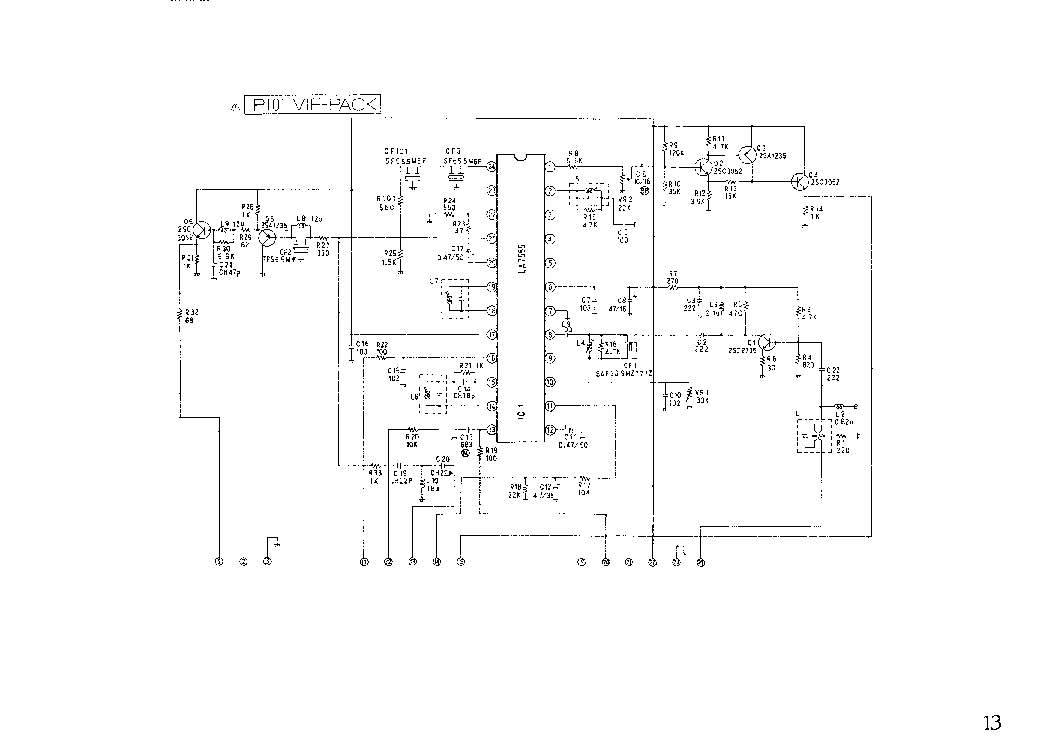 MITSUBISHI CT29B3EE Service Manual download, schematics
