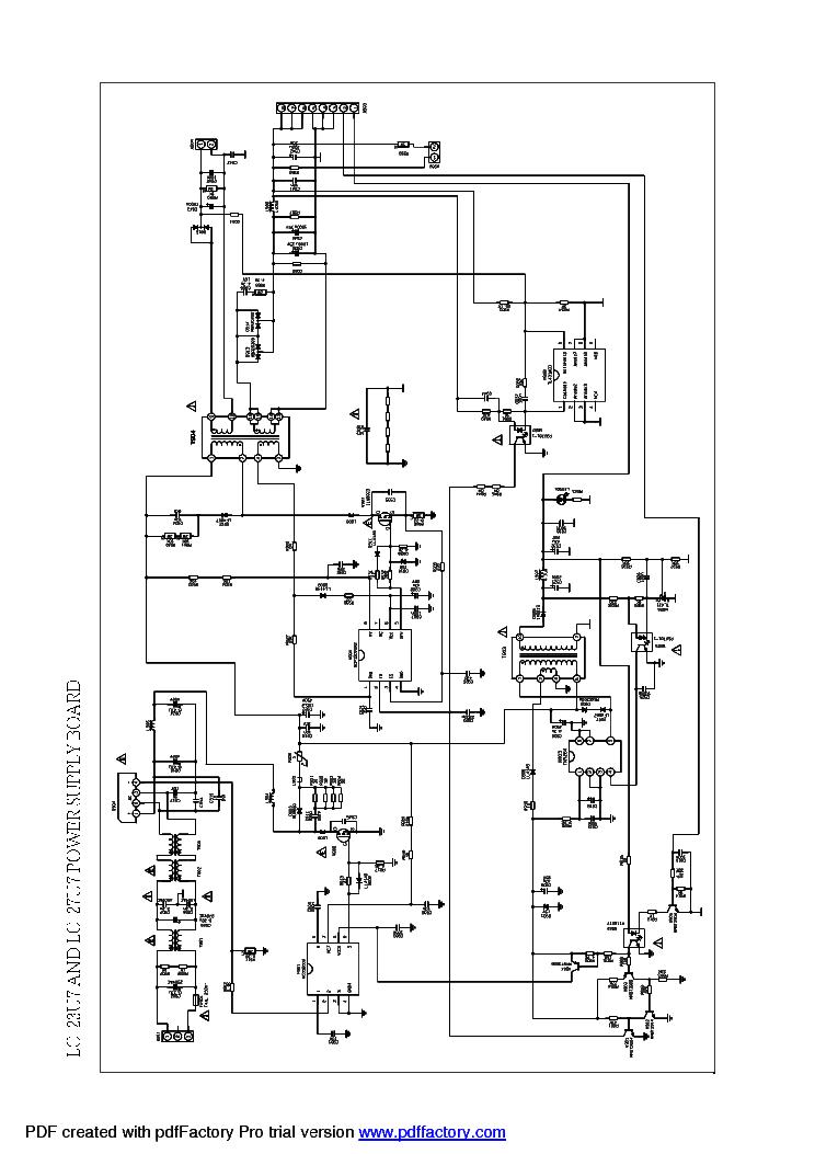 PRIMA LC-23U7D LC-27U7 451 782-L27M6-200A POWER SUPPLY
