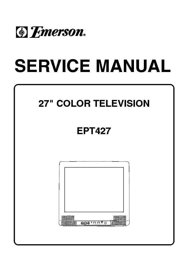 EMERSON ETV-2901 SCH Service Manual download, schematics