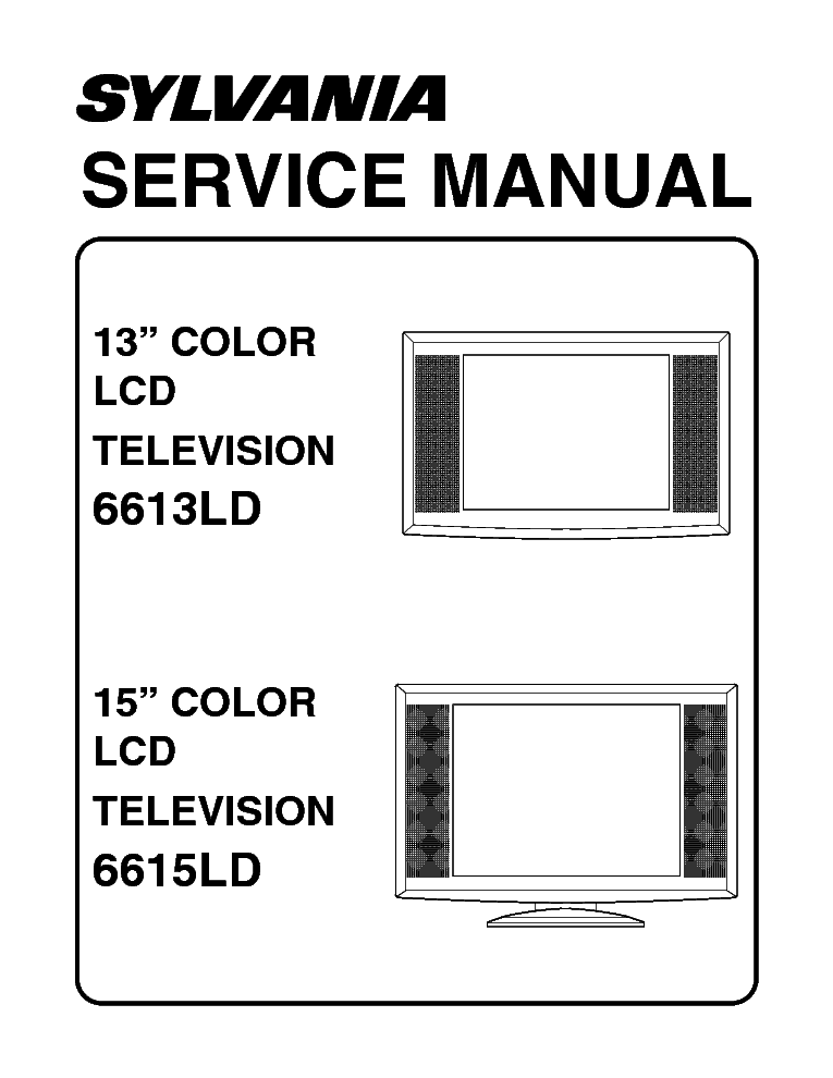 EMERSON TC1369 SCH Service Manual download, schematics