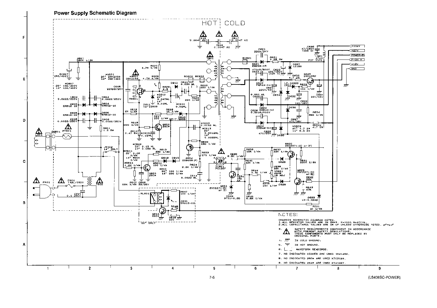 FUNAI MS-14VN-MK2 SCH Service Manual download, schematics