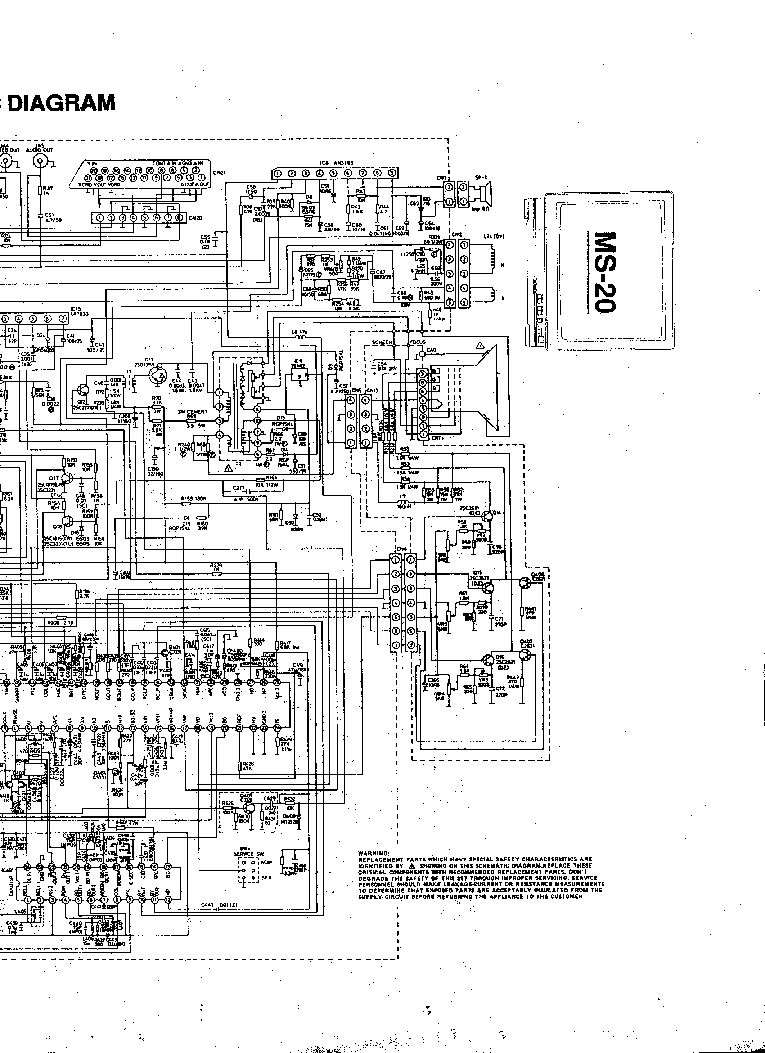FUNAI MS-20 SCH Service Manual download, schematics