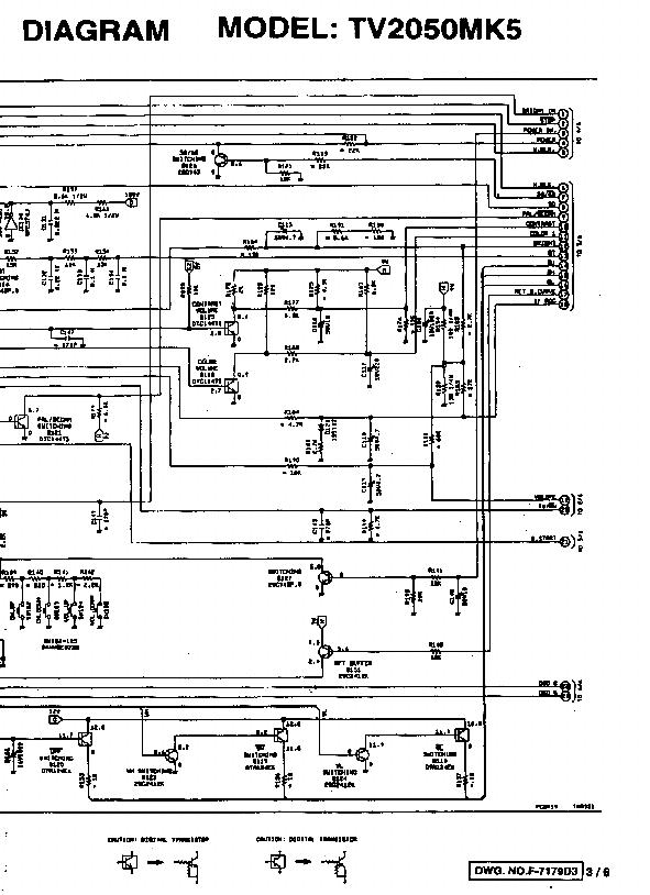 FUNAI ORION 2050 SCH Service Manual download, schematics