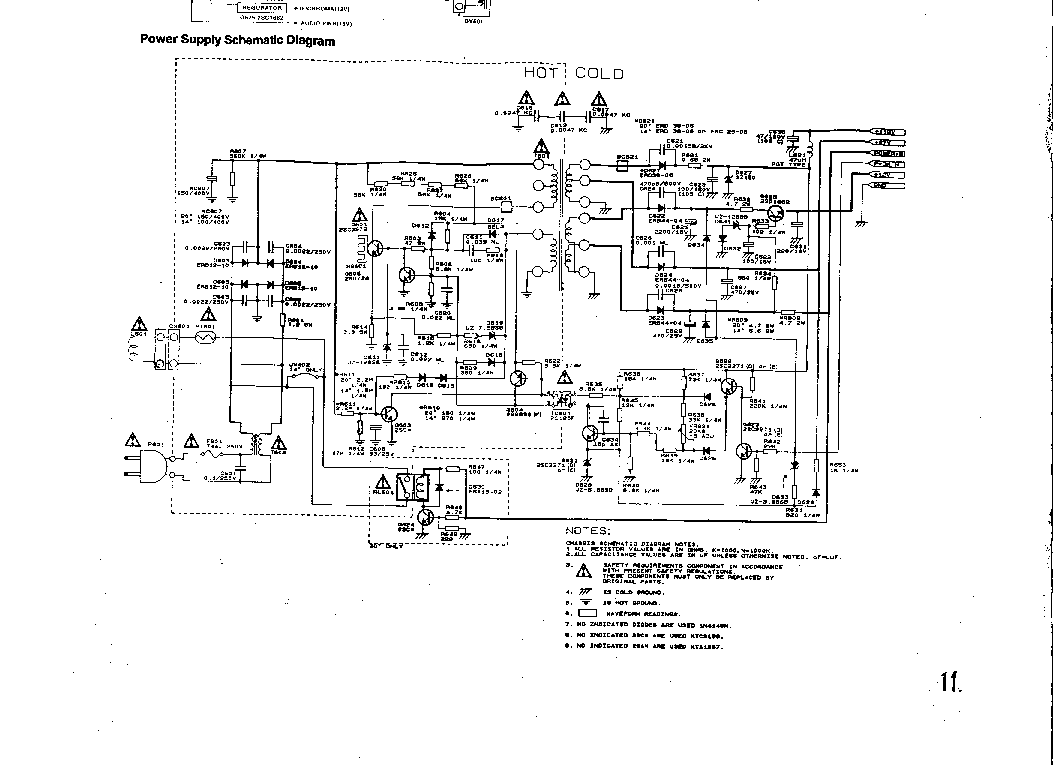 FUNAI TV-2000A-MK8 SCH Service Manual download, schematics