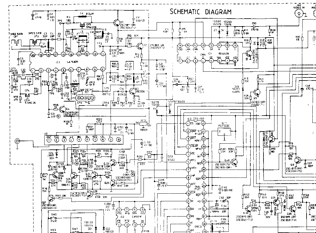 FUNAI SYMPHONIC RCA IWT3206 Service Manual free download