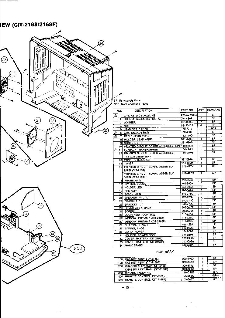 GOLDSTAR CKT9902 CKT9905 CKT219 CKT4902 4905 CHASSIS PC04A