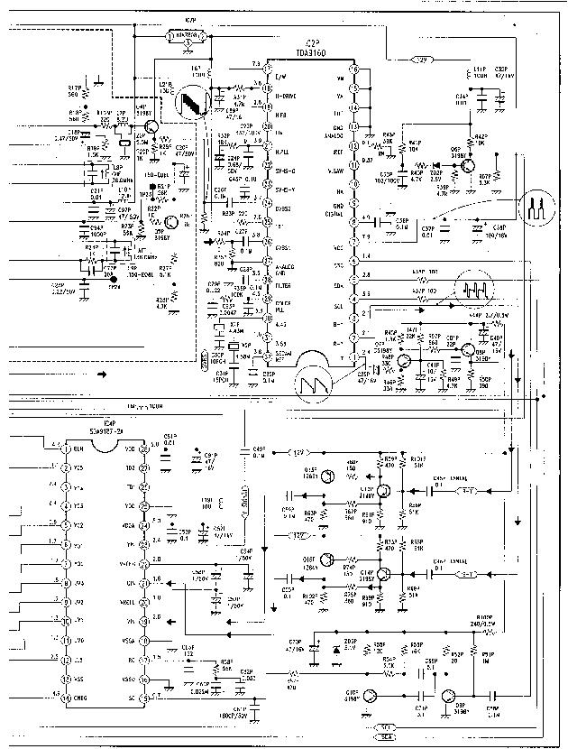 GOLDSTAR WF-28A10TM SCH Service Manual download